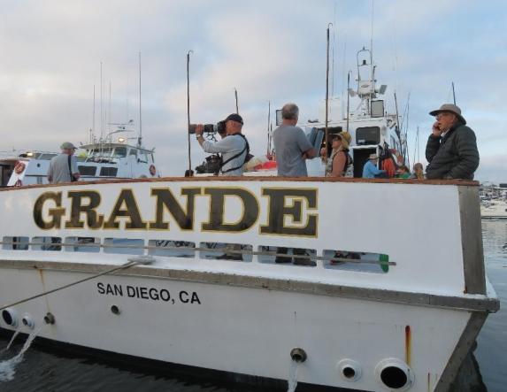 Boarding the Grande