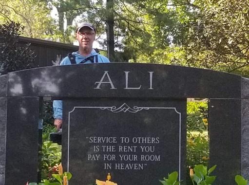 At Ali's Grave