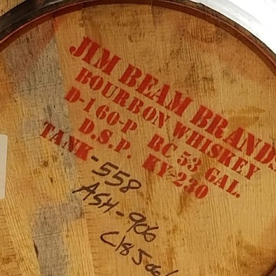 Jim Beam Barrel